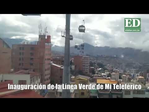 Disfrute de un recorrido en la Línea Verde del teleférico de La Paz