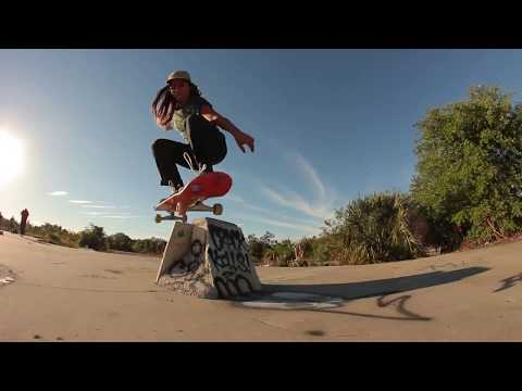 Fabiana Delfino's first ever trip with Santa Cruz Skateboards