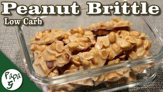 Easy Peanut Brittle – Low Carb Keto Desserts Recipe