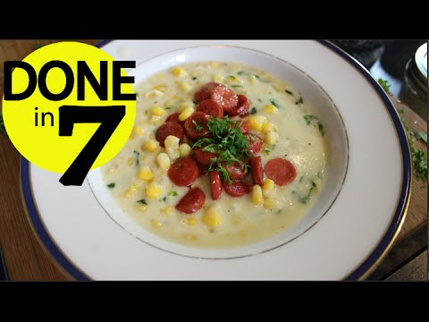 Cream Corn Soup - Done in 7.