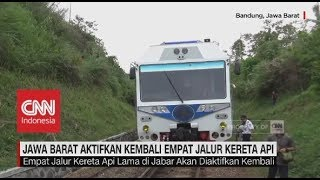 Download Lagu Jawa Barat Aktifkan Kembali 4 Jalur Kereta Api Gratis STAFABAND
