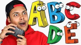 The Alphabet The Video Game (ABC Metamorphabet)