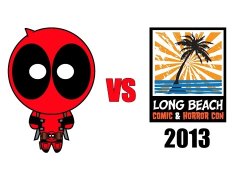 Deadpool vs Long Beach Comic-Con 2013