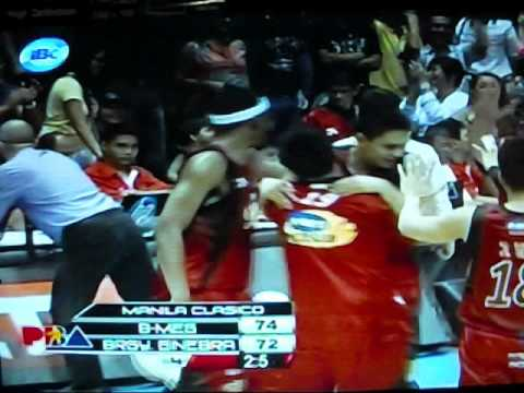 B-Meg vs Barangay Ginebra July 20, 2012( PJ Simon Putback)
