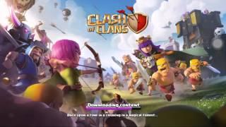 สอนสร้างไอดี clash of clans