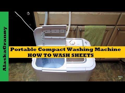 Panda Washer How To Wash Sheets