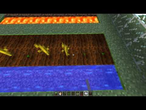 Minecraft - Tutorial Como Plantar todo Tipos de Semillas