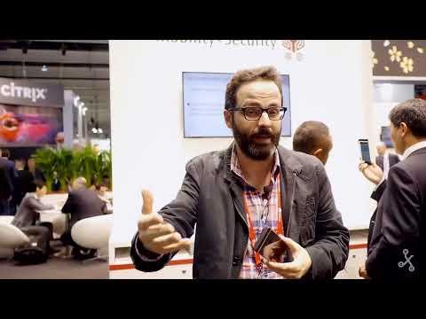 Fujitsu y su nueva tecnología de reconocimiento de retina - MWC 2015