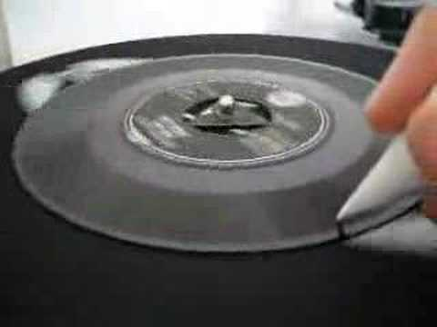 How to play a record with no electricity