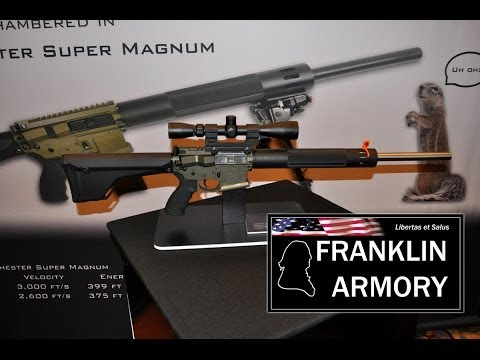 New Franklin Armory AR15 in 17 Winchester Super Magnum Caliber
