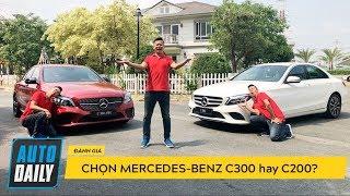 Đánh giá Mercedes-Benz C-Class 2019: Chọn C200 hay C300 AMG? |AUTODAILY.VN|