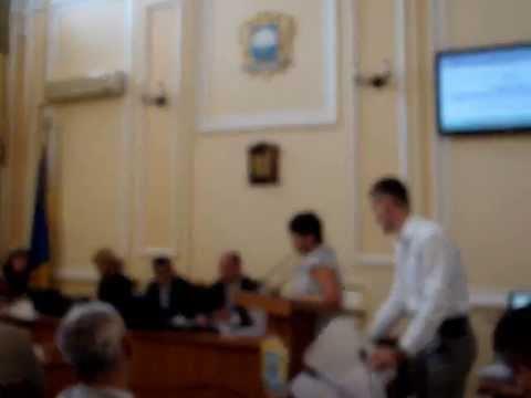 мэру г. Тернополя подарили скотч