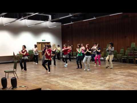 Akon - Bananza Belly Dance practice