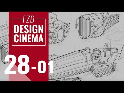 EPISODE 28 Vehicle Sketching part1