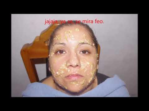 MASCARILLA DE MIEL- anti arrugas y humectante