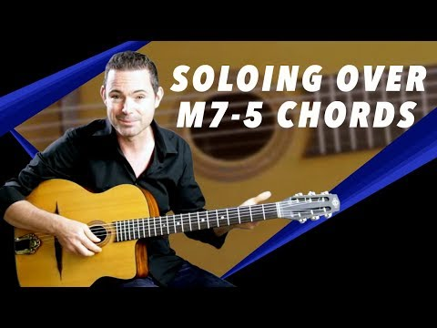 Cool Way To Solo Over m7-5 Chords - Gypsy Jazz Guitar Secrets Lesson