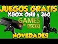 Juegos Gratis De Xbox Live Para Xbox One y Xbox 360 Y Novedades Games With Gold Abril