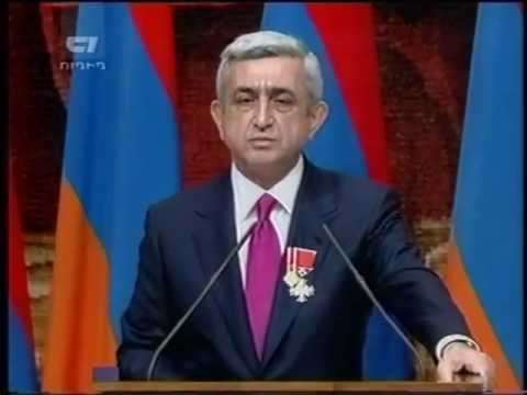 Serzh Sargsyan Assumed Office of RA President