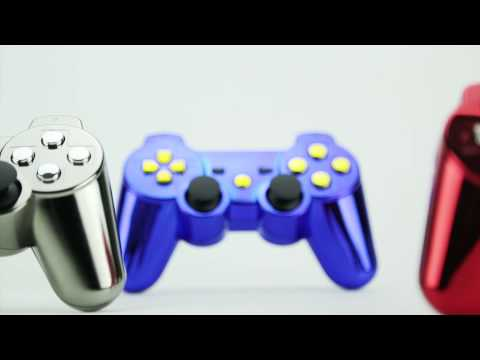 Custom Chrome PS3 Controllers - Customize Your Own - Controller Chaos
