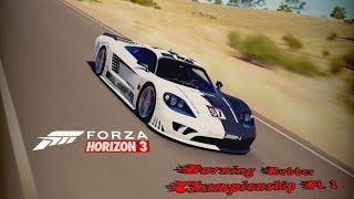 Forza Horizon 3 - Burning Rubber Chamionship Pt. 2