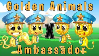 FUN RUN 3 : GOLDEN ANIMALS X AMBASSADOR !