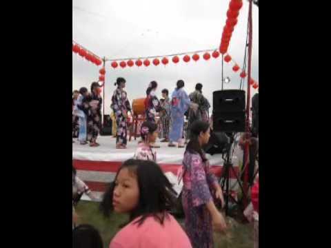 台中日僑學校第22屆夏季祭典 第三段節目音頭