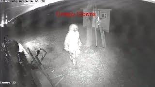 Creepy, Kiler clowns caught on camera (Just for Fun)