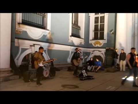 Уличные музыканты Питер ~ Круто исполнили Песня Город Сказка Танцы Минус