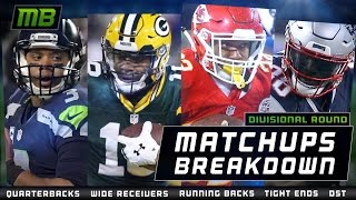 Matchups Breakdown: Divisional Round
