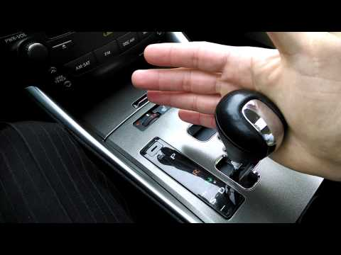 Lexus IS 250 - Sport shifter Review