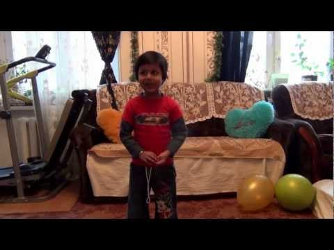 Abhilakshya Singing Nursery Rhymes video