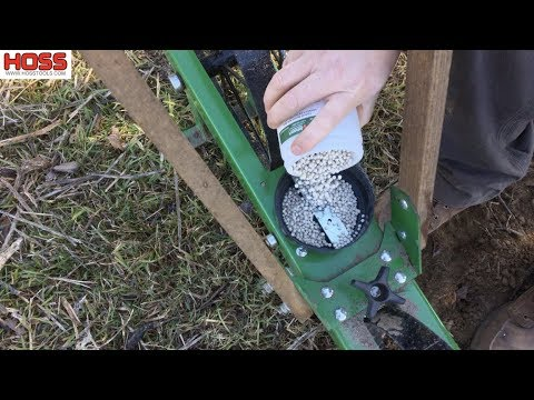 Easy Beet Planting with the Hoss Garden Seeder