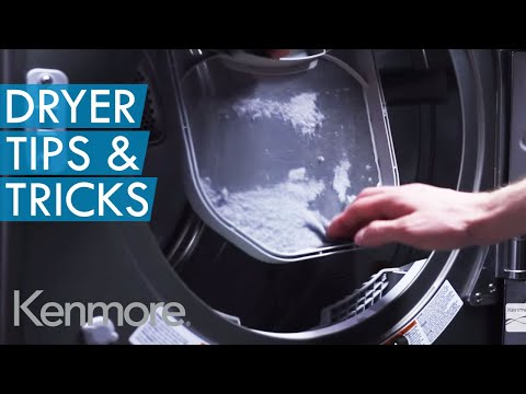 Cleaning Your Dryer