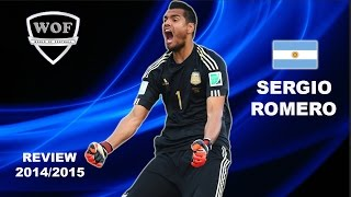 SERGIO ROMERO | Sampdoria | Best Saves | 2014/2015  (HD)