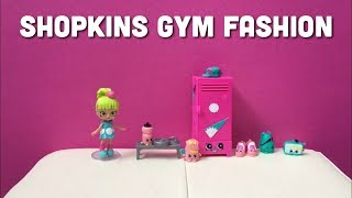 Shopkins Fashion Spree Gym Fashion Collection