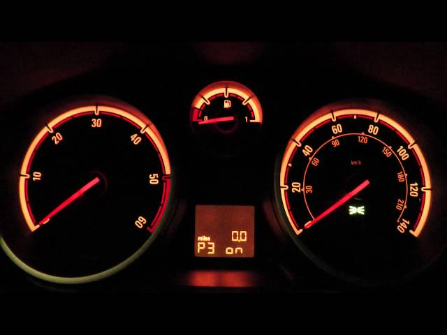 Vauxhall Opel Corsa D - Hidden Personal Options - Turn Off ...