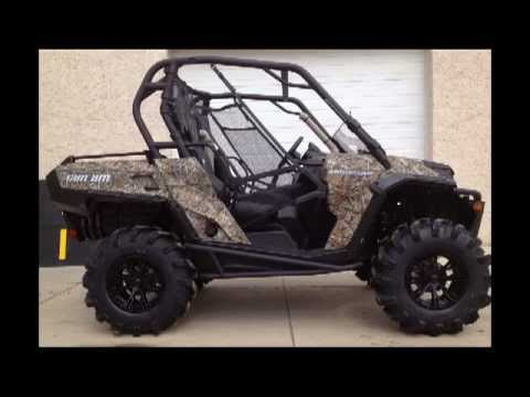 2012 Canam Commander 1000xt Camo Snorkeled Up Radial