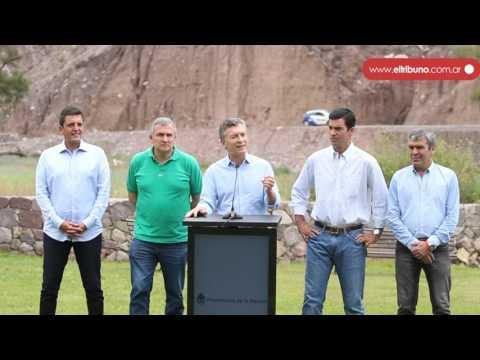 Macri y Morales acordaron la construcción del Parque Solar