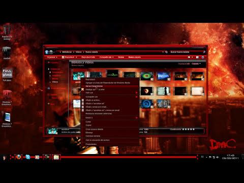 Como activar y usar Dreamscene en Windows 7 (Bien explicado)