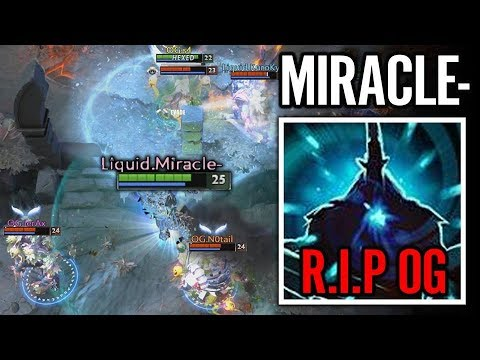 Miracle The Most Patient MAGNUS to RIP OG Dota 2 Liquid