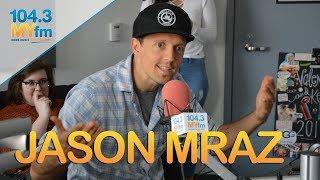 Jason Mraz Talks New Music, Taking His Dad On Tour & Feeling Plateaued As An Artist
