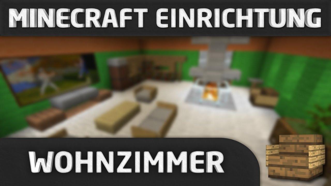 minecraft einrichtung wohnzimmer youtube. Black Bedroom Furniture Sets. Home Design Ideas