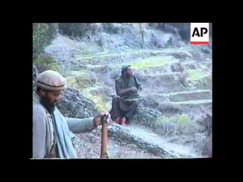 AFGHANISTAN: RARE FOOTAGE OF TALIBAN FIGHTERS