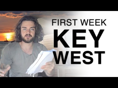 Van Dwelling: Key West Florida - First week full time living in my Chevy Astro Van