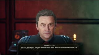 The Outer Worlds - Convince Chairman Rockwell and Sophia Akande to help you