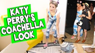 RECREATING KATY PERRY'S COACHELLA LOOK // Grace Helbig