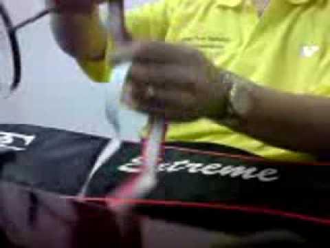 Cara Memasang Grip Pada Raket Badminton video