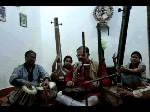 IMAN DAS SINGING RAGA JOG VILAMBIT EKTAAL TAANS IN ''OMKAR''