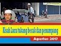 KH Anwar Zahid Agustus 2017 ~ Tukang becak dan penumpangnya