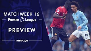 Premier League preview: High-stakes Manchester Derby | NBC Sports